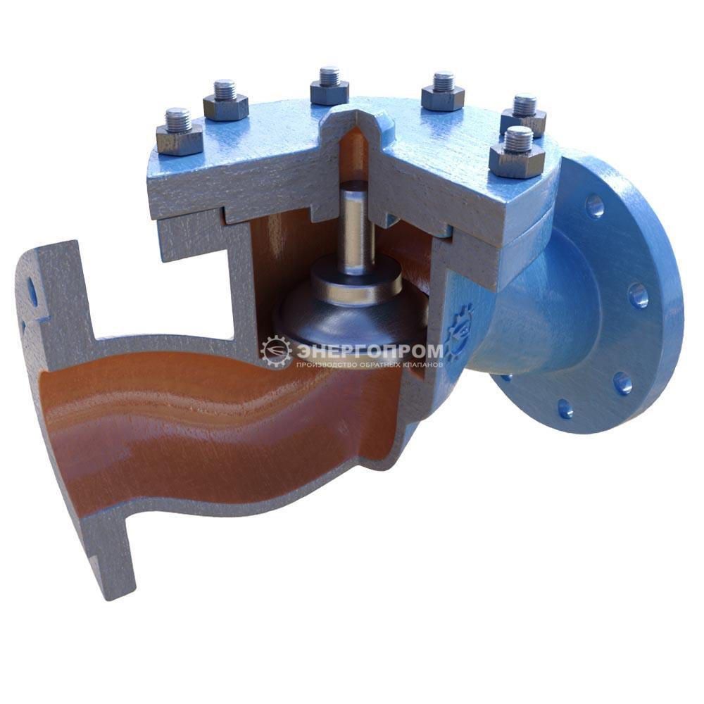 Обратный Клапан 16с10нж, 16лс10нж, 16нж10нж подъемный фланцевый Ру16 стальной литой