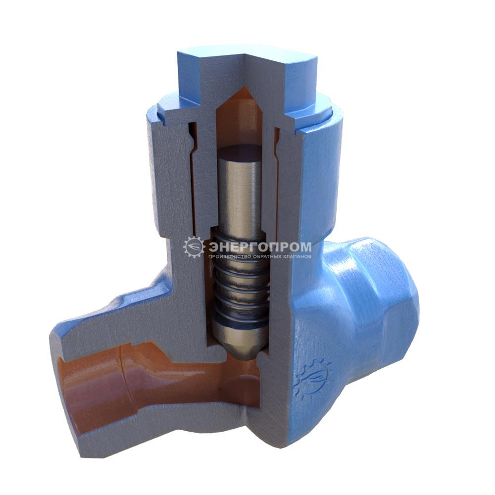 Клапан подъемный стальной 16с48нж, 16нж48нж , 16лс48нж муфтовый, фланцевый, под приварку