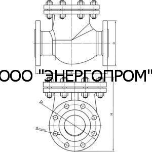 Клапан 19с53нж ДУ50-200