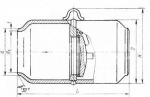 19с38нж ДУ50-200