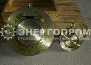 Клапан обратный стальной 19лс80нж Ду200 Ду100 межфланцевый