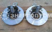 Клапан обратный стальной межфланцевый 19с80р Ду100 EPDM и PTFE